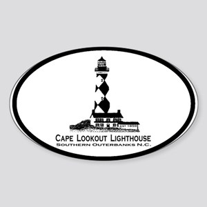 Crystal Coast Oval Sticker