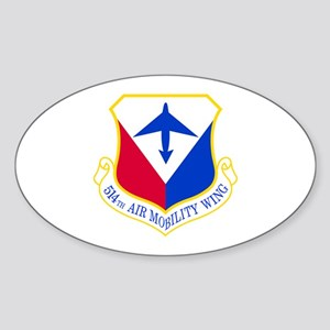 514th Oval Sticker
