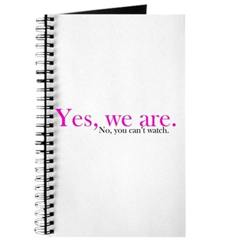 Yes, we are. Journal