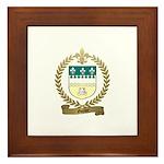 GUILLET Family Crest Framed Tile