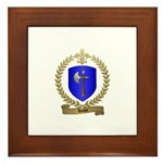 HACHE Family Crest Framed Tile