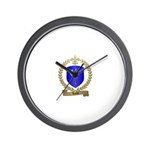 HACHE Family Crest Wall Clock