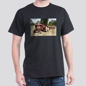 Old rusty tractor in the country T-Shirt