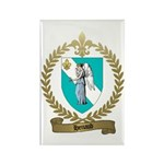 HENAUD Family Crest Rectangle Magnet (100 pack)