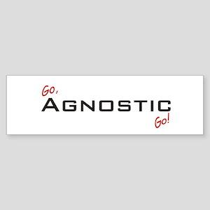 Go Agnostic Bumper Sticker