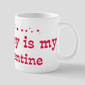 Shirley is my valentine Mug