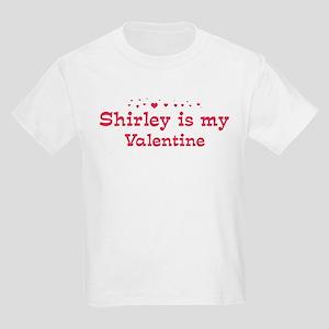 Shirley is my valentine Kids Light T-Shirt