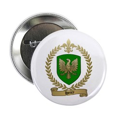 HENRY Family Crest Button