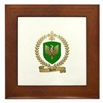 HENRY Family Crest Framed Tile
