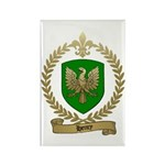 HENRY Family Crest Rectangle Magnet (100 pack)