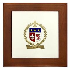 HERAUT Family Crest Framed Tile