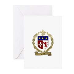 HERAUT Family Crest Greeting Cards (Pk of 10)