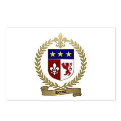 HERAUT Family Crest Postcards (Package of 8)