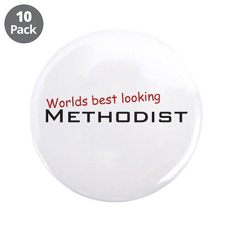 """Best Methodist 3.5"""" Button (10 pack)"""