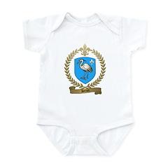 HERON Family Crest Infant Creeper