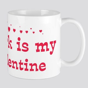 Mark is my valentine Mug