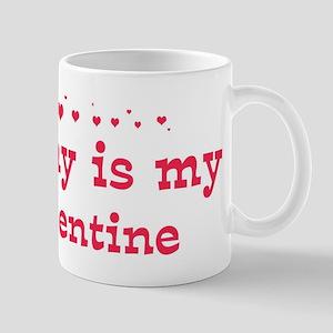 Jimmy is my valentine Mug