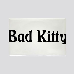 Bad Kitty Simple Magnets