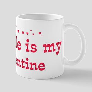 Isabelle is my valentine Mug
