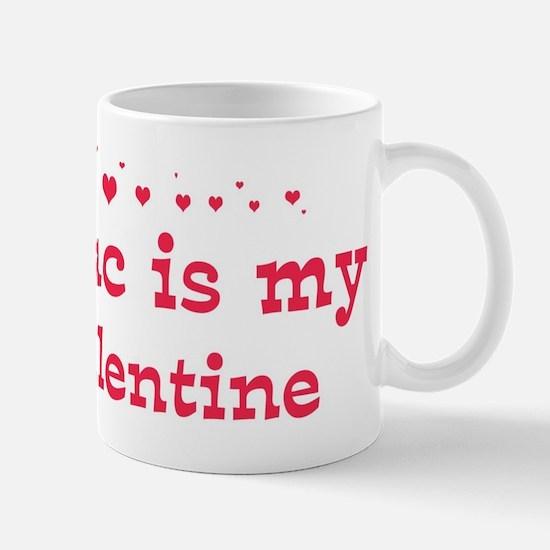 Isaac is my valentine Mug