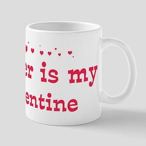 Homer is my valentine Mug