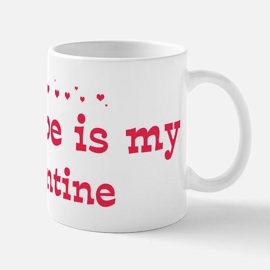 Glenn is my valentine Mug