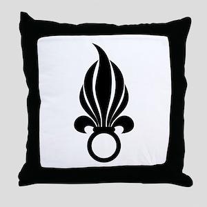 Legionnaire Emblem Throw Pillow