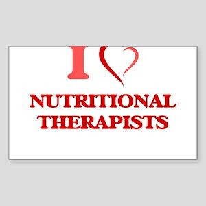 I love Nutritional Therapists Sticker