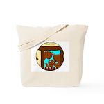Animal Lover Gift The Three Bears Tote Bag