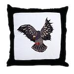 Bird in Flight Throw Pillows
