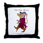 City Mouse Throw Pillows