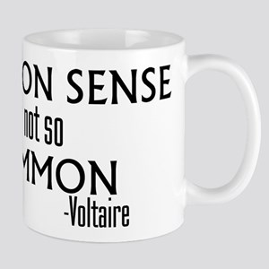Common Sense Not So Common Mug