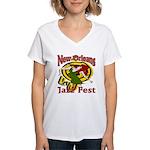 Jazz Fest Rite of Spring Women's V-Neck T-Shirt