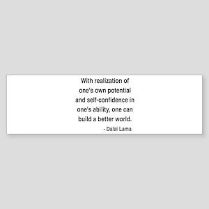 Dalai Lama 19 Bumper Sticker