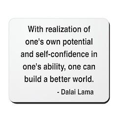 Dalai Lama 19 Mousepad