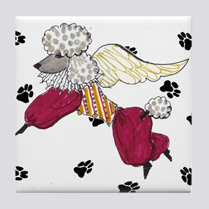 Poodle Tile Coaster