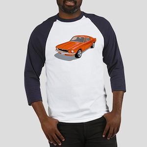 1968 Ford Mustang Fastback Baseball Jersey