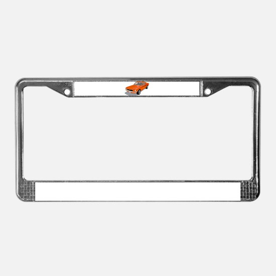 1968 Ford Mustang Fastback License Plate Frame