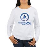 Recycled Scot Women's Long Sleeve T-Shirt