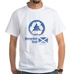 Recycled Scot White T-Shirt