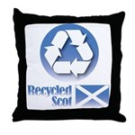 Recycled Scot Throw Pillow