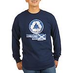 Recycled Scot Long Sleeve Dark T-Shirt