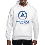 Recycled Scot Hooded Sweatshirt