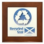 Recycled Scot Framed Tile