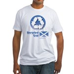 Recycled Scot Fitted T-Shirt