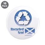 """Recycled Scot 3.5"""" Button (10 pack)"""