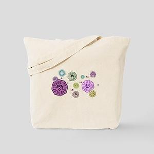 Dharma Vintage Pastel Tote Bag
