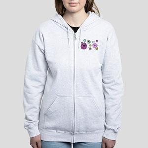 Dharma Vintage Pastel Women's Zip Hoodie