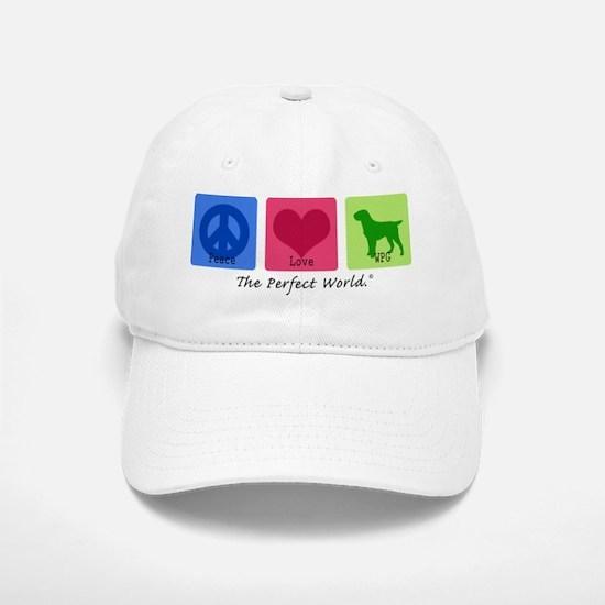 Peace Love WPG Baseball Baseball Cap