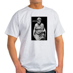 Wisdom of Socrates Ash Grey T-Shirt